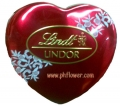 Lindt Lindor Heart Tin with Crystals